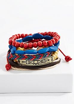 Campfire Beaded Bracelet Set