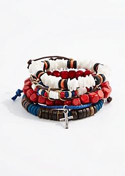 Puka Campfire Bracelet Set