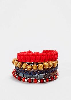 Campfire Braided Bracelet Set