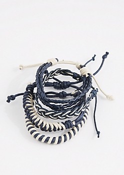 Braided Camp Bracelet Set