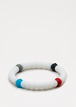 White Circle Elements Bracelet
