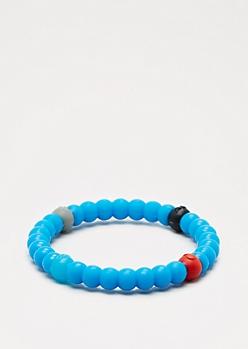 Navy Circle Elements Bracelet