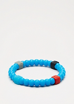 Navy Squared Elements Bracelet