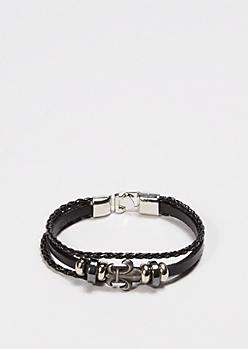 Fleur-de-lis Strap Bracelet