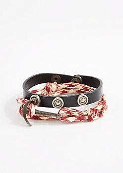 Anchor Toggle Bracelet Set