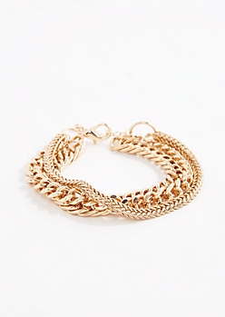 Mixed Chain Bracelet