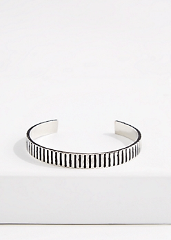 Striped Metallic Cuff