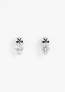 Skull Stone Earrings
