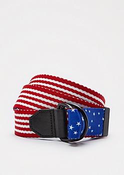 Americana Reversible Webbed Belt
