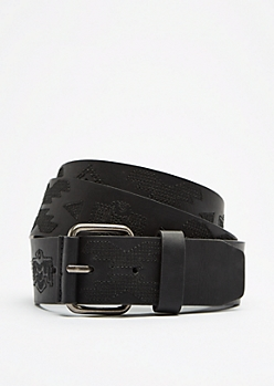 Tribal Stitched Belt