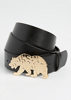 Black Cali Republic Bear Belt