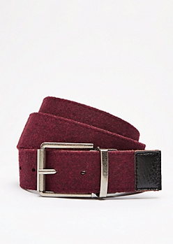 Reversible Burgundy & Black Belt