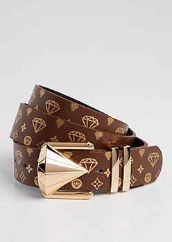 Brown Gem Drip Belt
