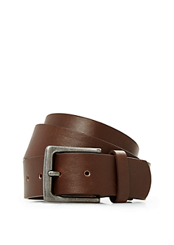 Essential Brown Faux Leather Belt