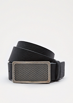 Diamond Grill Buckle Belt