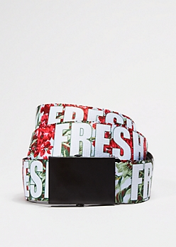Fresh Webbed Belt