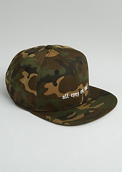 All Eyez On Me Camo Snapback