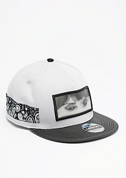 Mysterious Wink Snapback