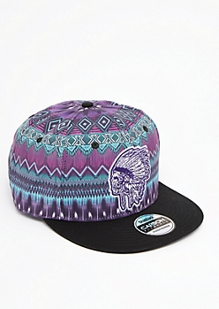 Aztec Headdress Snapback