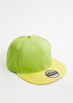 Neon Green & Yellow Snapback
