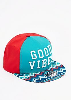 Good Vibes Aztec Snapback