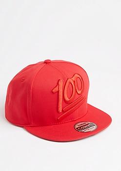 100 Glossed Snapback