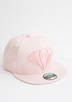 Pink 3D Gem Snapback