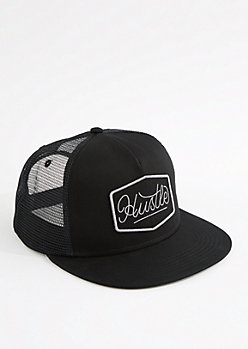 Hustle Mesh Trucker Hat