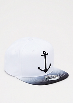 Ombre Anchor Snapback