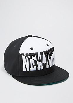 New York Color Block Snapback