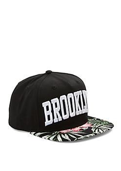 Brooklyn Tropical Snapback Hat