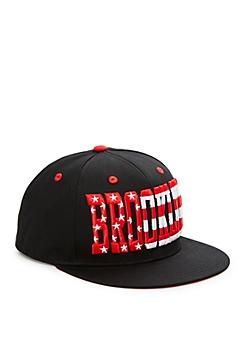 Black Brooklyn Stars & Stripes Snapback Hat