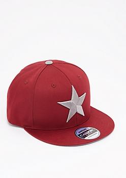 Silver Star Snapback