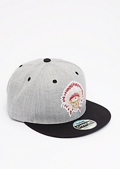 Skull Headdress Snapback