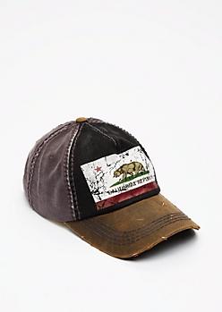 Cali Republic Washed Baseball Hat