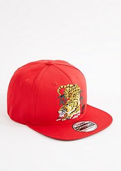 Red Tiger Snapback