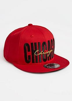 Chicago Stitched Snapback