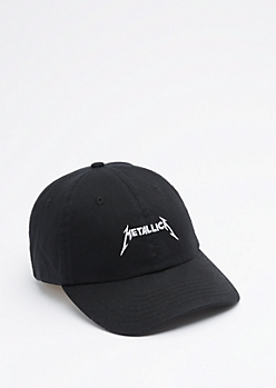 Black Metallica Dad Hat