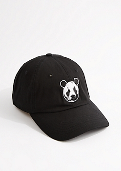 Black Panda Dad Hat by Desiigner