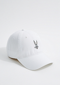 White Bugs Bunny Dad Hat
