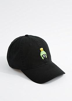 Black Marvin Dad Hat