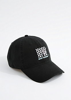 Black MTV Dad Hat