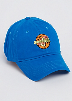 Blue Space Jam Dad Hat