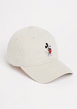 Gray Mickey Mouse Dad Hat