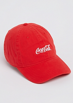 Red Coca-Cola Dad Hat