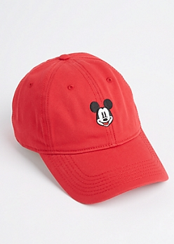 Red Mickey Mouse Dad Hat