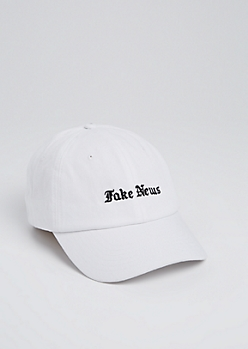 Fake News Dad Hat
