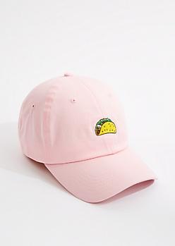 Pink Taco Dad Hat