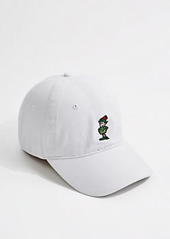 White Elf Dad Hat
