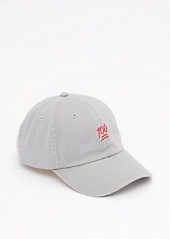 Emoji 100 Baseball Hat